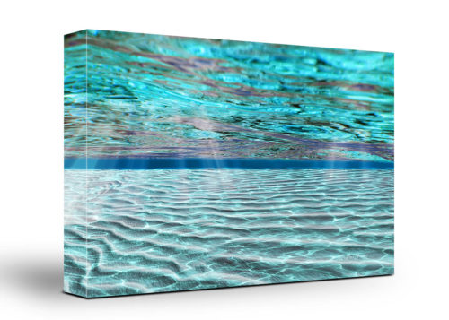 Underwater Canvas Wall Art Handmade – 24 x 36 inches (60 x 90 cm) – Unframed – Signed by Artist
