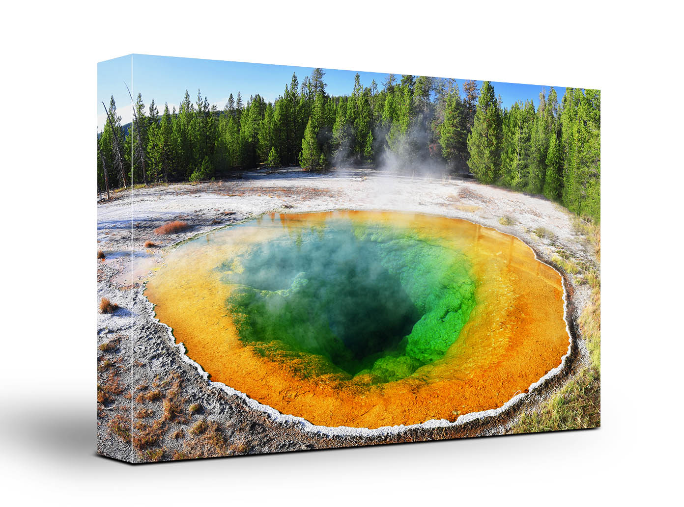 Yellowstone Glory Morning Pool Wall Art
