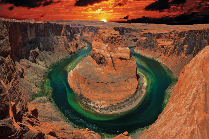 Horseshoe Canyon Wall Art